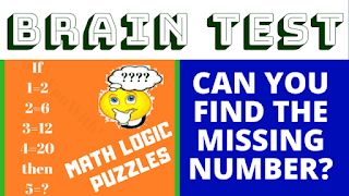 If 1 = 2, 2 = 6, 3 = 12, 4 = 20 then 5 = ? Can you find the missing number?