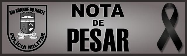 Nota de Pesar da Polícia Militar pelo falecimento do PRF José Rufino da Costa