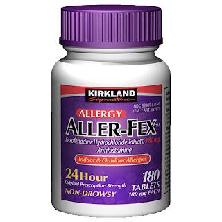 Viên uống trị viêm xoang Kirkland Aller Fex thực phẩm chức năng của Mỹ