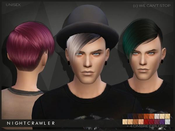 My Sims 4 Blog Nightcrawler We Can T Stop Hair For Males