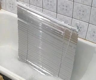 как помыть жалюзи