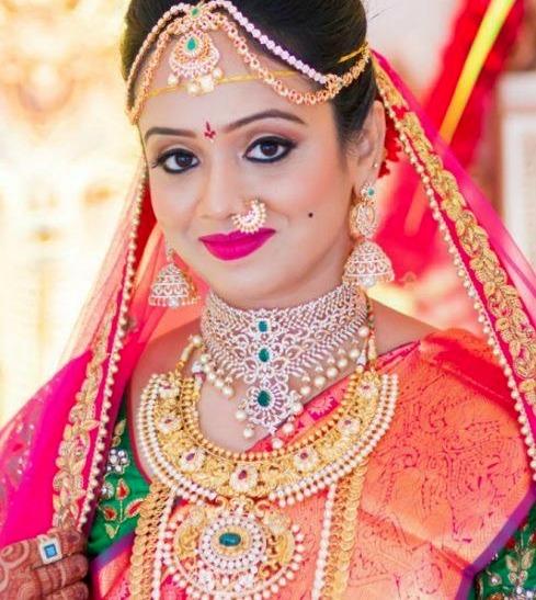 Bride in Tremendous Antique Diamond Sets
