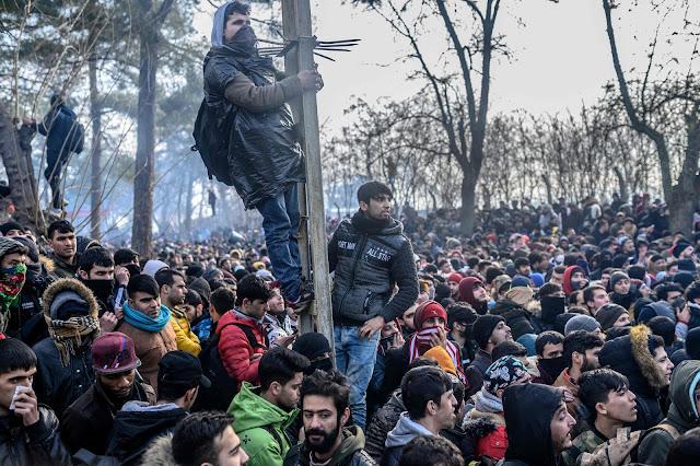 migranti zapeli između turske i grčke