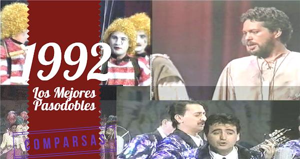 Los Mejores Pasodobes de Comparsas del COAC de 1992: Totramúsicos, Doremifasoleando, Oye mi Canto...