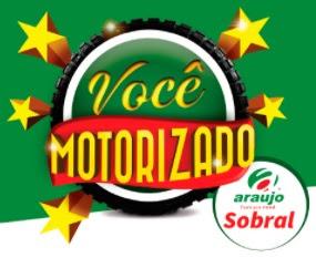 Promoção Araújo Supermercados 2017 Você Motorizado Moto CG