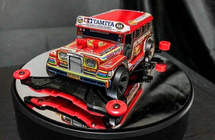 Tamiya Dyipne Introduced, A Limited Edition Mini 4WD Kit