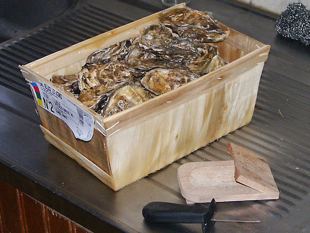 Box of oysters, France. Photo by Loire Valley Time Travel.