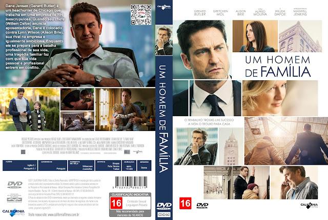 Capa DVD Um Homem de Família [Custom]