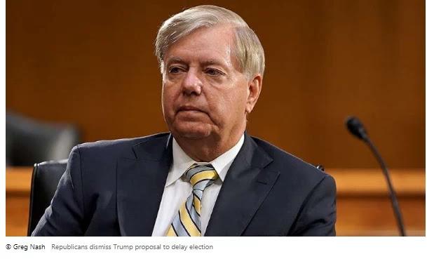 Republicans brush aside Trump idea to prolong election Senate Republicans, inclusive