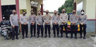 Sambut HUT Bhayangkara Ke-75, Polsek Somba Opu Siap Menerima Tim Penilai Polres Gowa