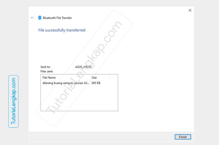 Tutorialengkap 5 Cara Mengirim File Dari Laptop ke HP dan Dari HP ke Laptop lewat Bluetooth