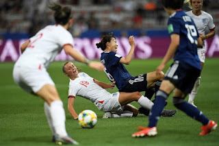 Women's World Cup: England Beat Japan 2-0