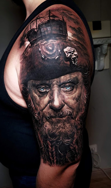 tattoo man on arm