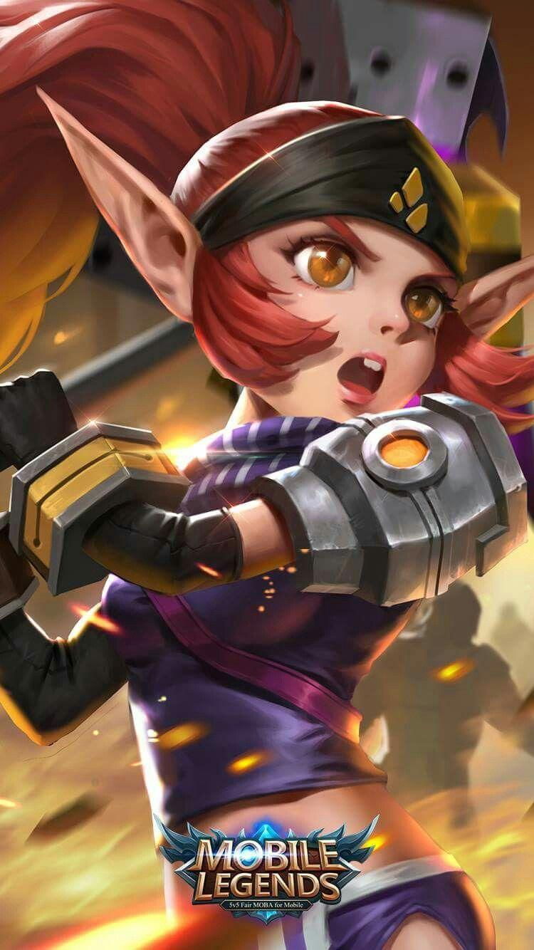 Wallpaper Lolita Soldier in Training Skin Mobile Legends for Android and iOS