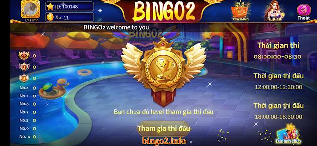 Tính năng thi đấu trong game BINGO2