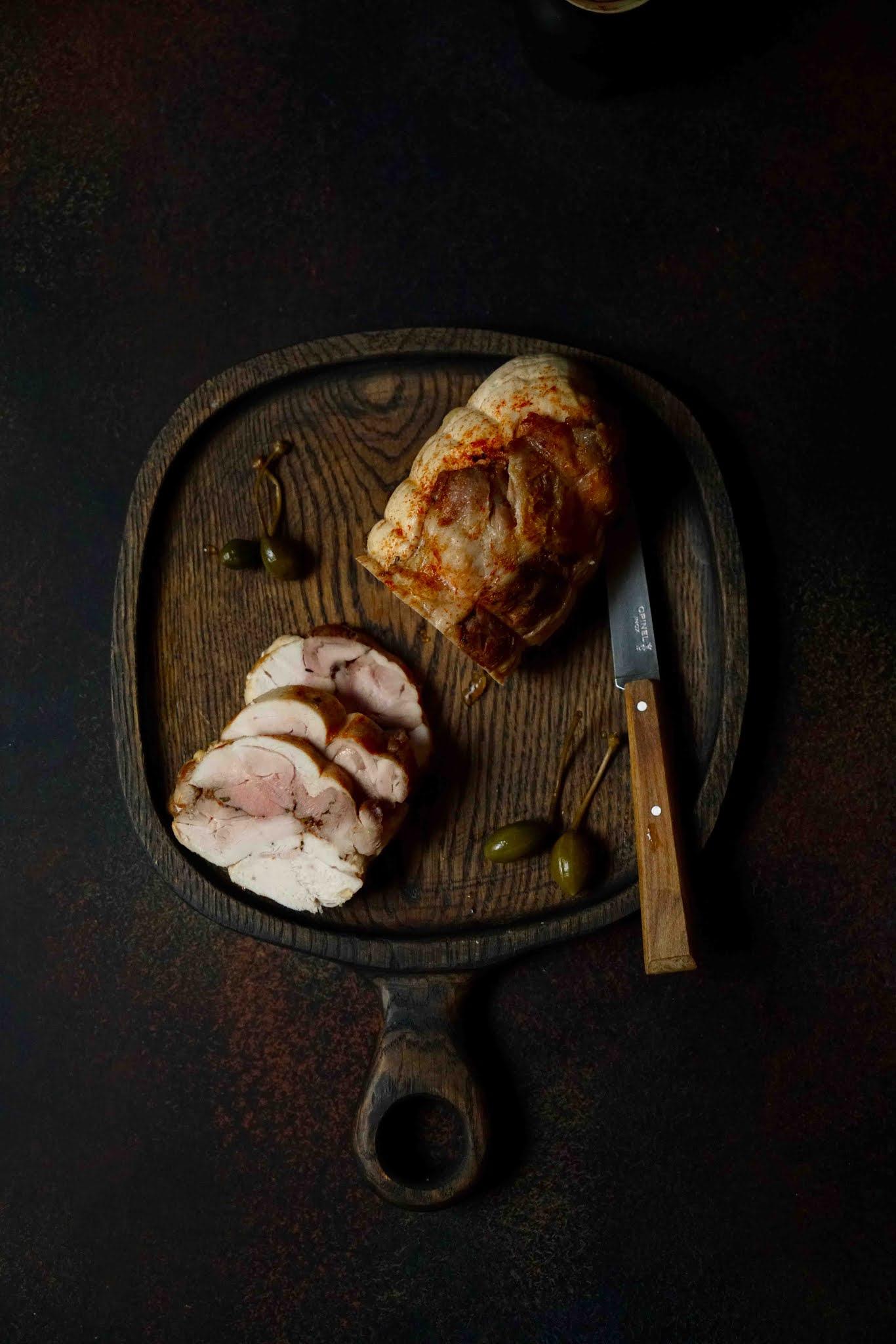 poulet , épices , rôti cuit