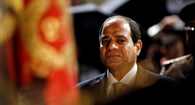 """السيسي يوجه رسالة للمصريين بشأن """"عاصفة التنين"""""""