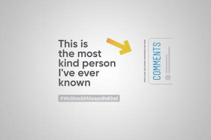Cara Membuat The Most Kind Person di Story Instagram