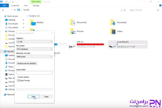 تثبيت ويندوز 10 على الكمبيوتر من الهارد