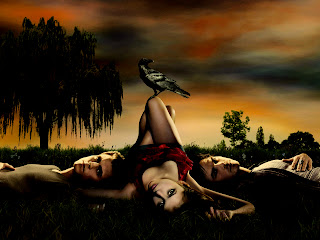 Vampire Diaries Nina Dobrev Fantasy Art HD Dark Wallpaper
