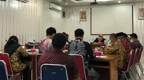 Hearing dengan Camat, Komisi I DPRD Padang: Jangan Sampai Ada Silpa Lagi
