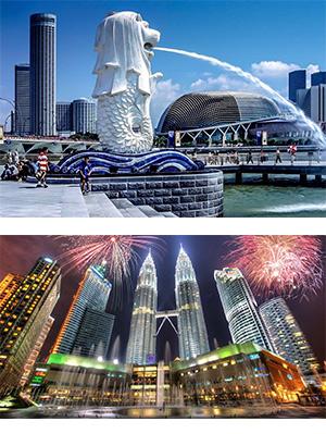 TOUR DU LỊCH SINGAPORE - MALAYSIA: GARDEN BY THE BAY – FLOWER DOME - S.E.A AQUARIUM - VƯỜN CHIM JURONG - NHẠC NƯỚC - DAY TOUR GENTING