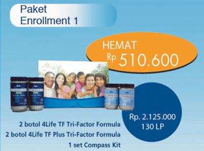 Paket Enrollment #1 4Life Transfer Factor