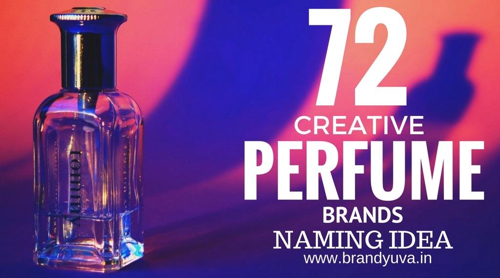 72 Catchy Perfume Brand Names Idea