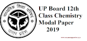 UP Board 12th Class Chemistry Modal Paper 2019