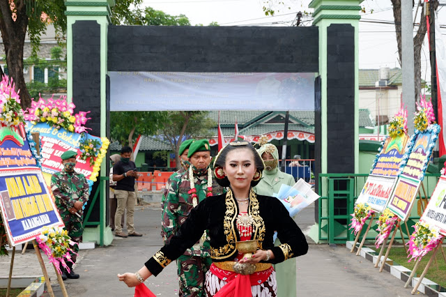 KodimKaranganyar - Letkol Inf Ikhsan Agung WidyoWibowo S.I.P Resmi Menjabat Sebagai Dandim 0727 Karanganyar