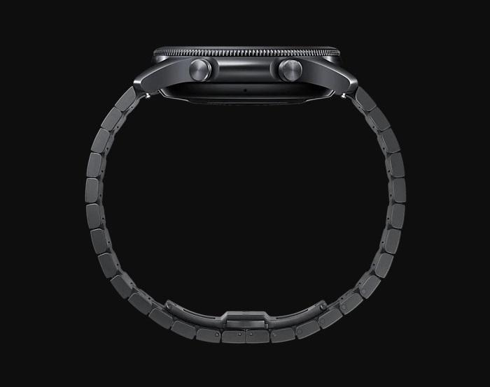 Samsung Galaxy Watch3 Titanium Metallic Strap