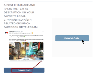 Copy image and post it in a group