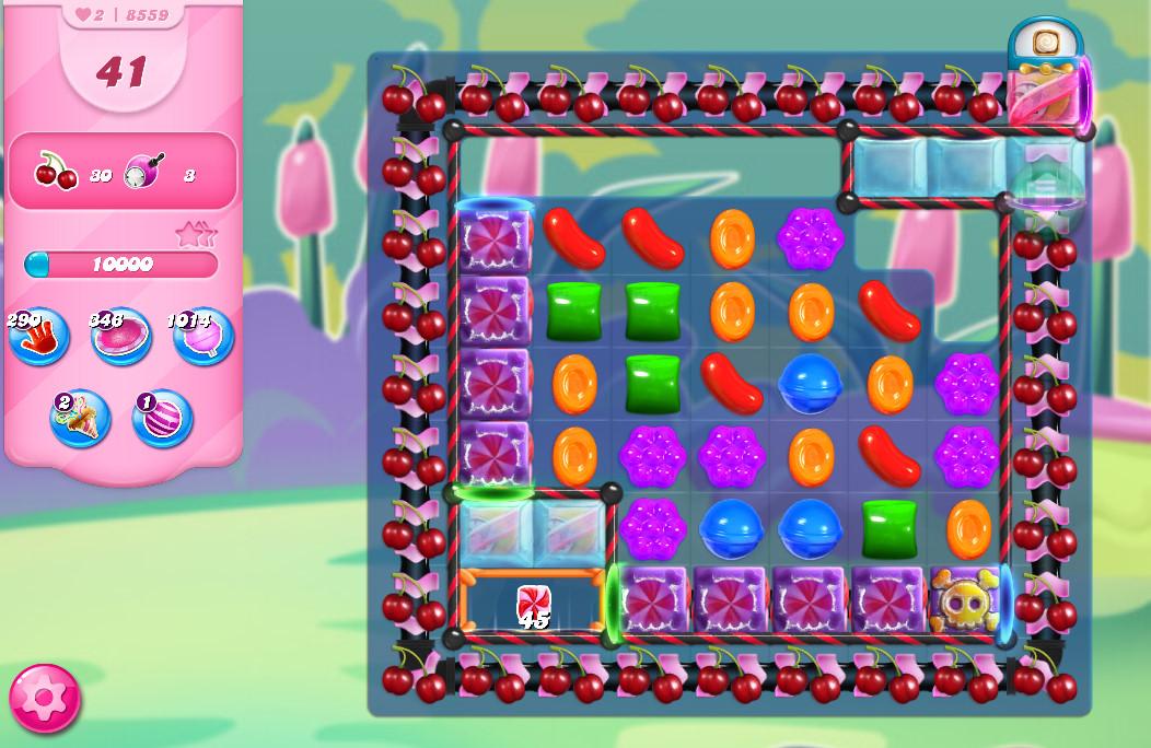 Candy Crush Saga level 8559