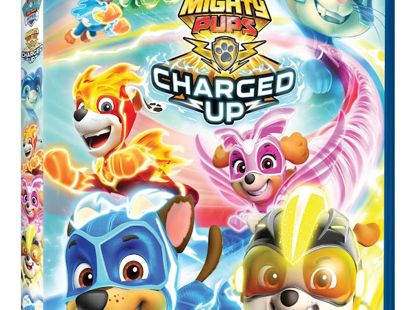 PAW Patrol: Mighty Pups Charged Up on DVD June 2: A Giveaway
