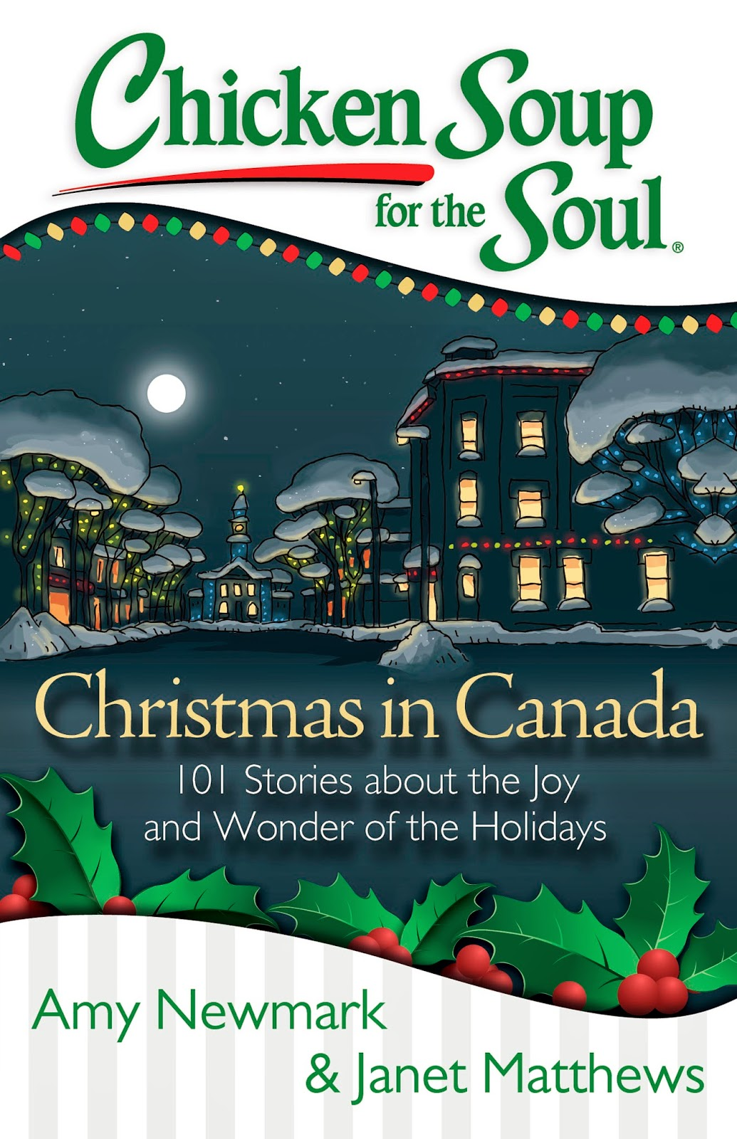 Enter to win 1 of 3 copies of Chicken Soup for the Soul: Christmas in Canada. Ends 11/14.