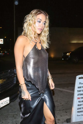 Rita Ora suffers wardrobe slip up on LA night out