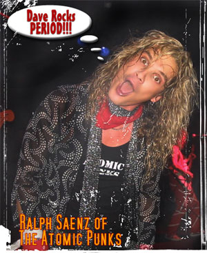 David Lee Ralph of the Atomic Punks.  #PMRC PunkMetalRap.com