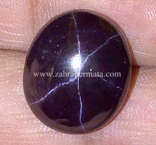 Batu Permata Star Garnet + Memo - ZP 546