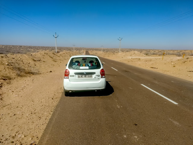 Longewala road