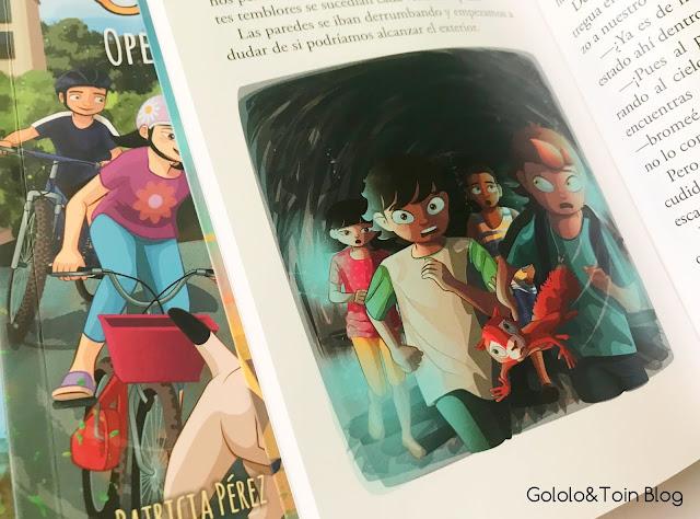 Ilustraciones de las aventuras de Txano y Óscar