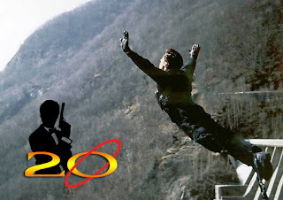 20 years of James Bond 007 GOLDENEYE, Bungee Jump