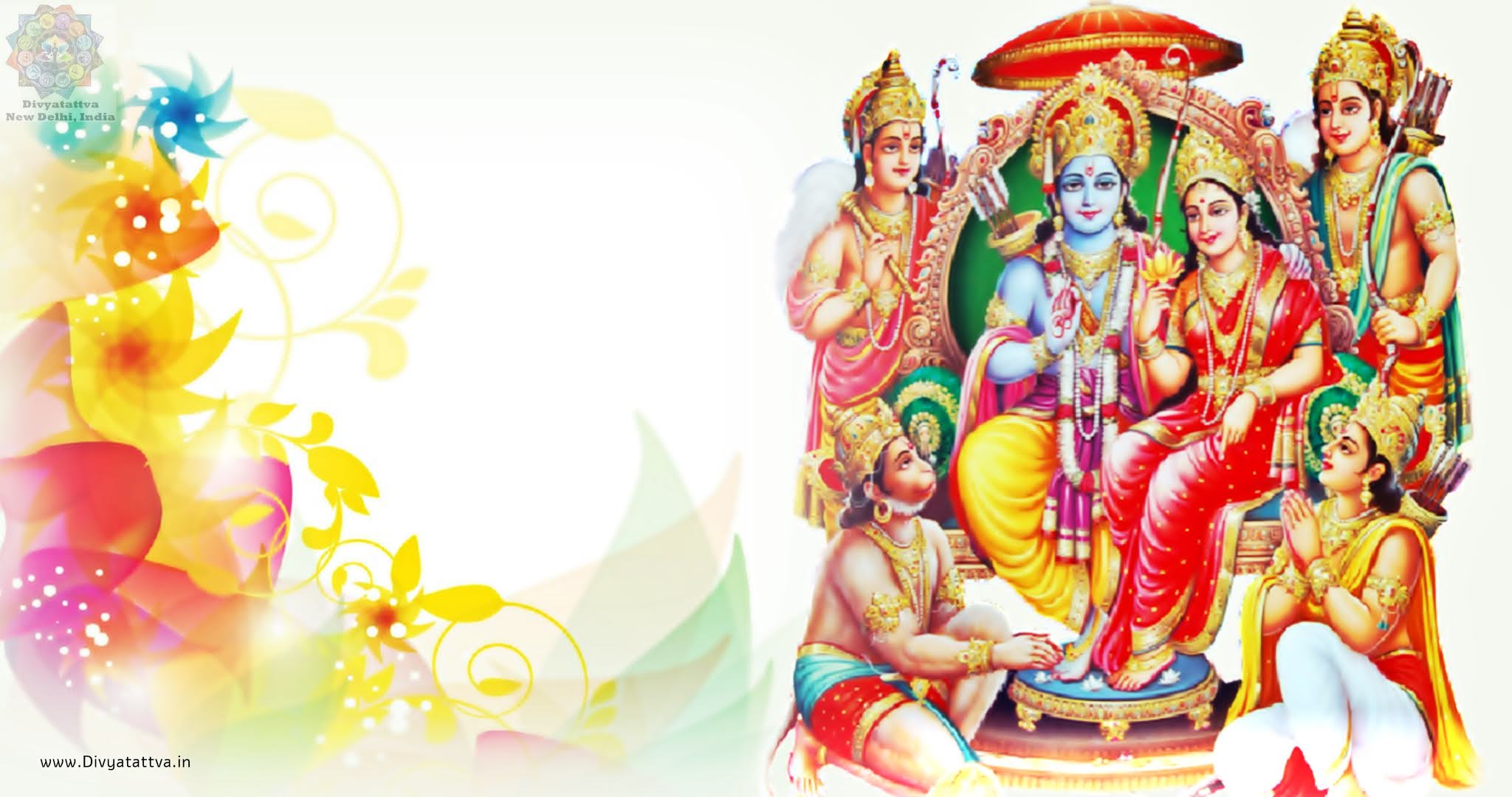Photo Gallery and Pictures of Lord Rama, Sita, Hanuman, Laxman or Rama Parivar Wallpapers