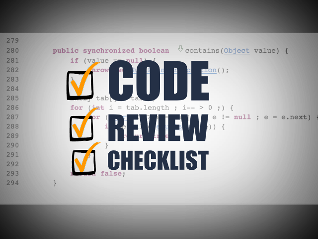 Code Review Checklist