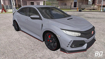 Download Mod carro Honda Civic Type R 2017 para GTA San Andreas, JOGO GTA SA PC