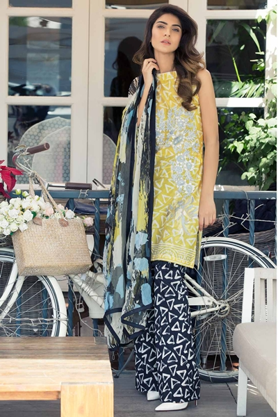 Rubaiyat Lawn 2017 Dresses Collection by Barae Khanom