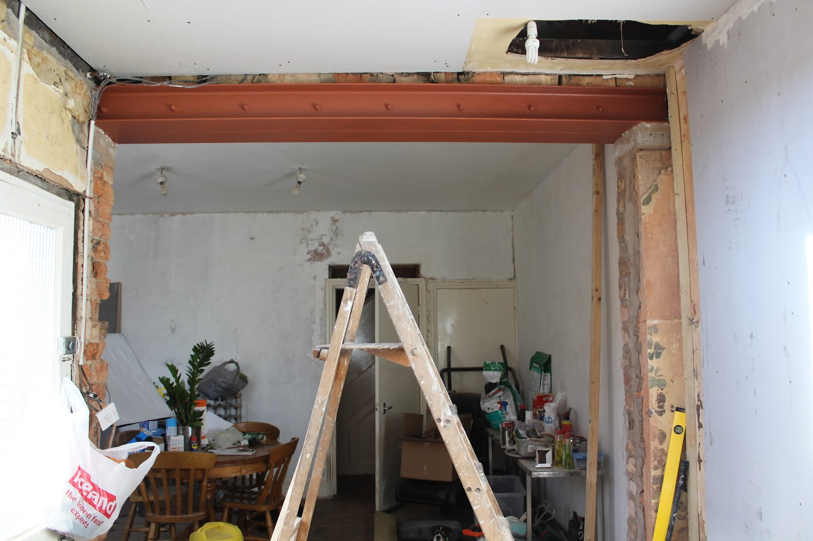 Uk home renovation interiors and diy blog for Structural beams for houses