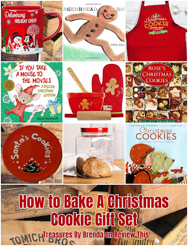 How to Make A Christmas Cookie Gift Set...Without Baking