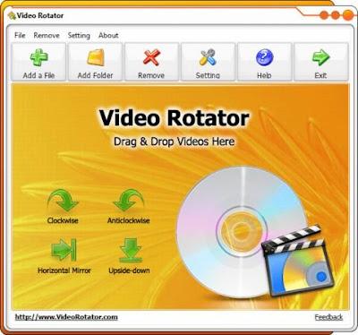 تحميل برنامج تعديل الفيديو المقلوب للكمبيوتر Video Rotator 2020