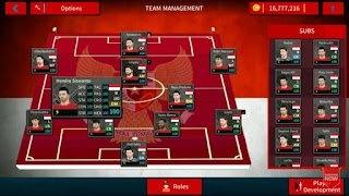 Download Dream League Soccer 2021 Mod Timnas Indonesia