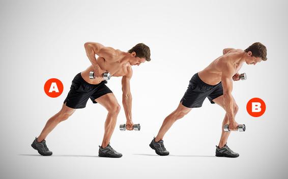 Full Body Dumbbell exercises